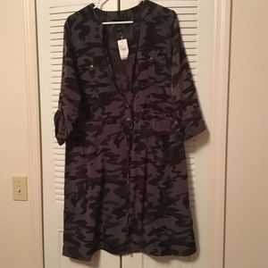 Lane Bryant Camouflage Dress